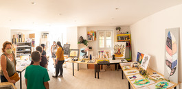 Inauguration atelier Peren'art, septembre 2020