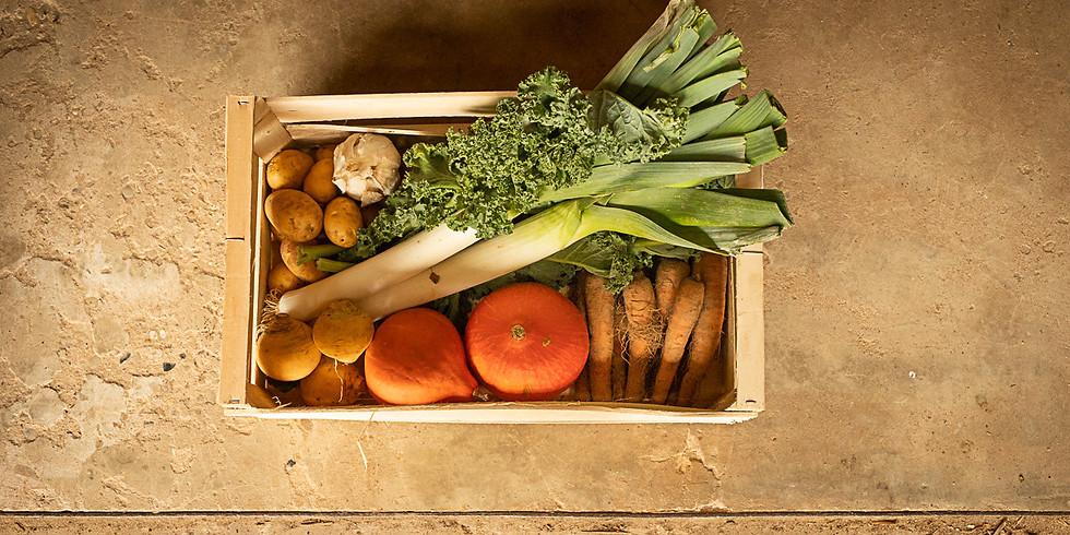 Réservation panier de légumes de la semaine