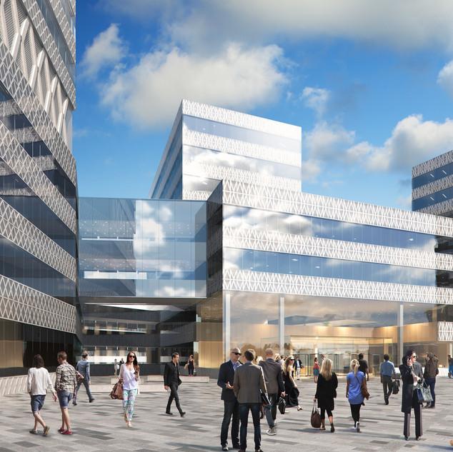 SEB:s nya kontorskvarter
