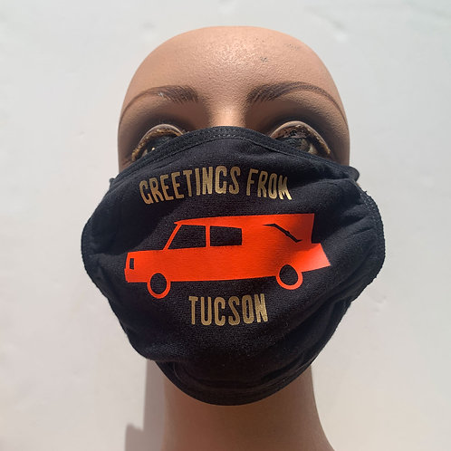 GREETINGS FROM TUCSON mask