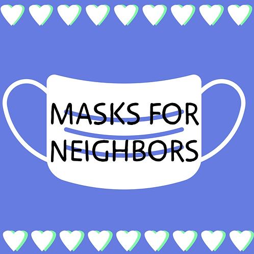 Mask Donation Option