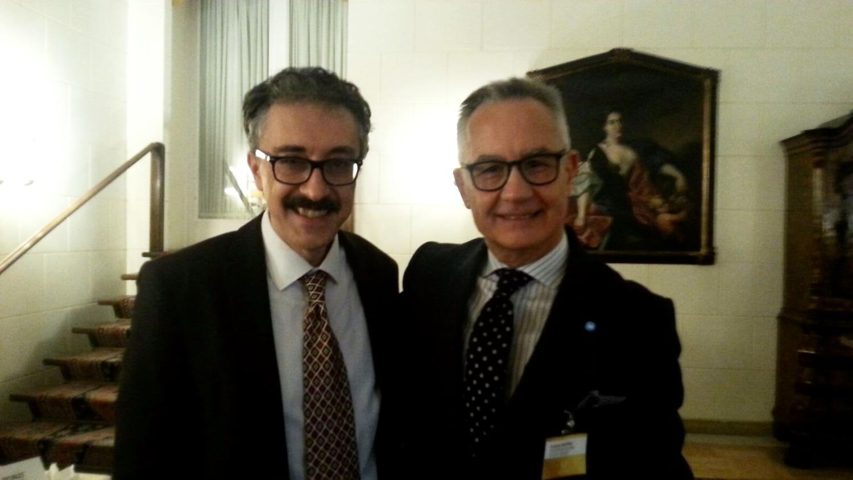 Con Luciano Garofano