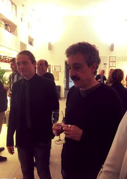 Con Raffaele Sollecito