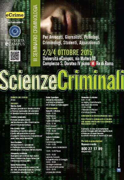 scienze criminali