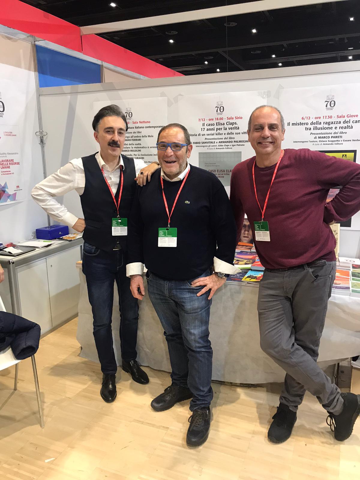Con Gildo Claps e Armando Palmegiani