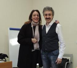 Con Ilenia Petracalvina