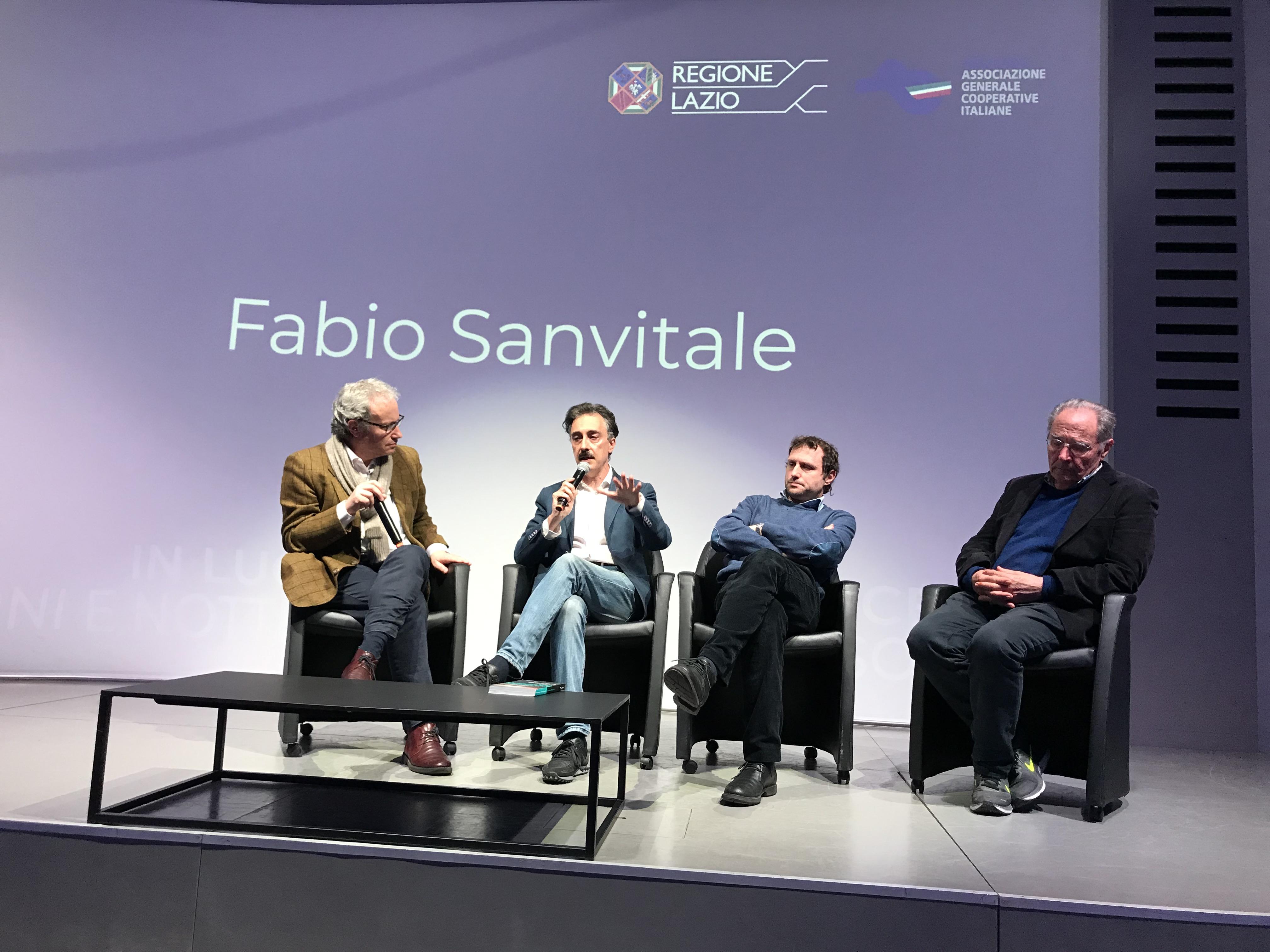 Con Renzo Paris e Giuseppe Garrera