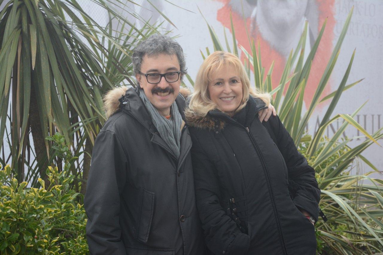 Con Cinzia Tani