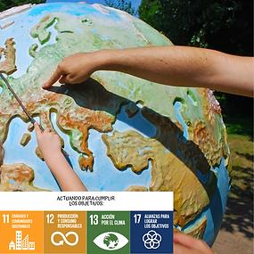 Consciecia sobre el cambo climático con los objetivos de desarrollo sostenible ODS
