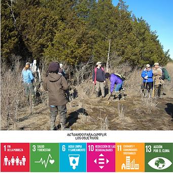 Consecuencias del cambio climático y los objetivos de desarrollo sostenible ODS