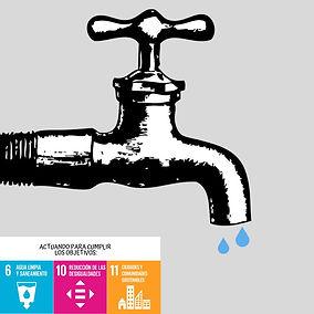 Escasez de agua y los objetivos de desarrollo sostenible ODS