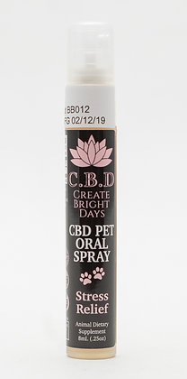 CBD Stress Relief Pet Spray 52mg