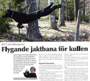 """Jakt & Jägare 5 2015 – """"Från parning till färdig jakthund, del 5"""""""