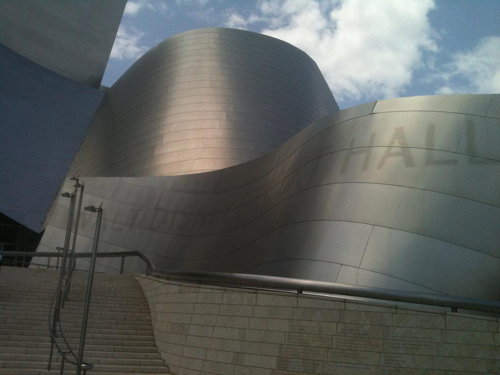 Walt Disney Concert Hall designed by Fra