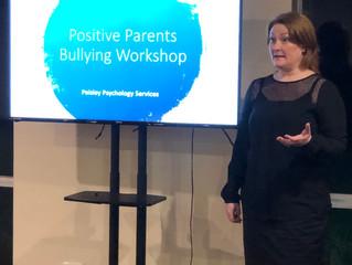 Positive Parents Bullying Workshop - Latest News