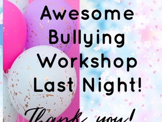 The Latest Positive Parents Bullying Workshop
