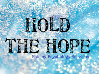 Hold The Hope