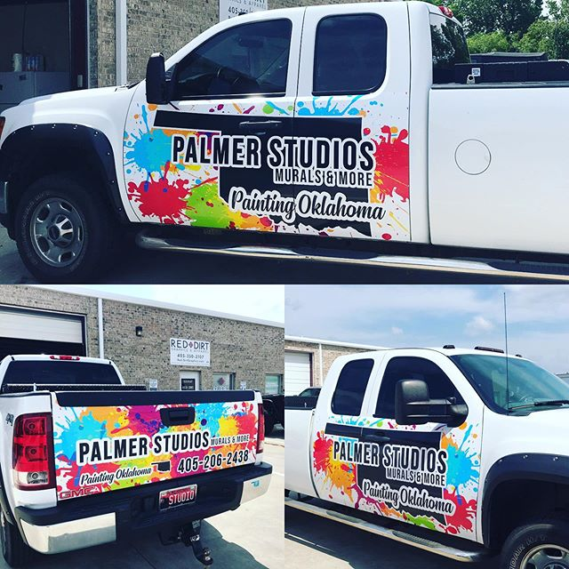 Live life in full color!_#vinylwrap #par