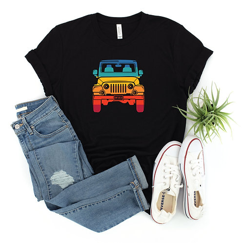 Rainbow Jeep Shirt