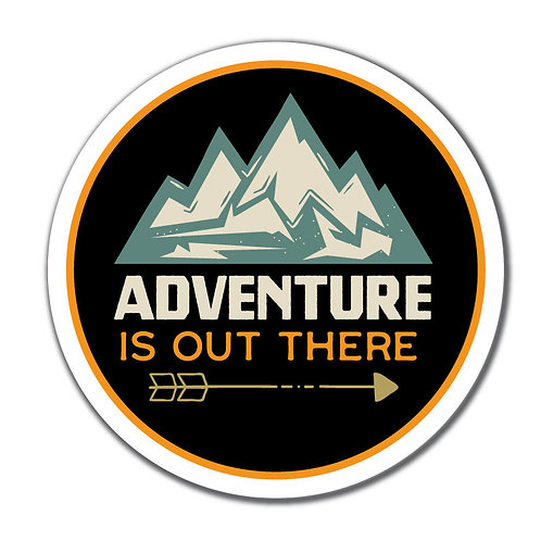 Adventure is Out There Decal