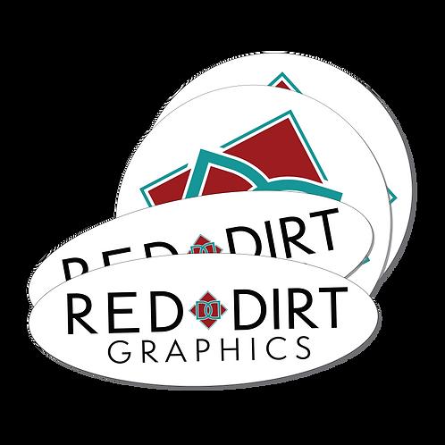 Round Cut Stickers