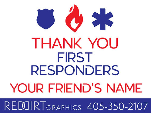 Thank You-First Responders