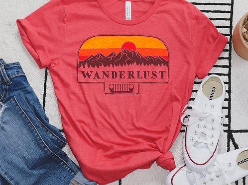 Wanderlust Jeep Shirt