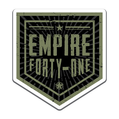 Empire 41 Badge Decal