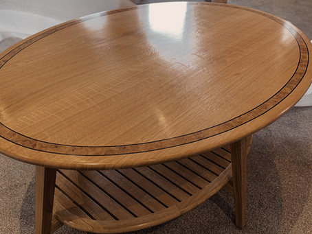 Oak Table for a Private Client (Cumbria)