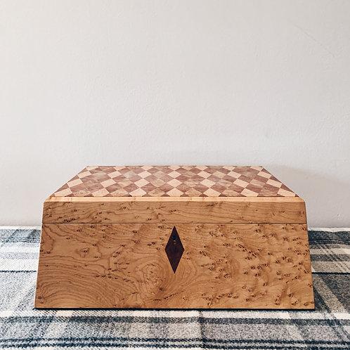 Birdseye Maple Jewellery Box