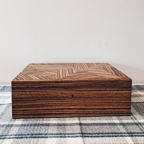 Zebrano Jewellery Box