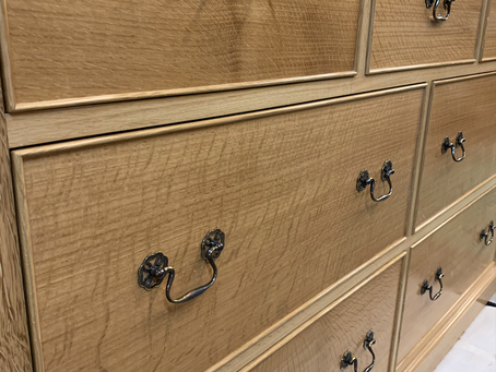 Oak Chest of Drawers for a private client (North Yorkshire).