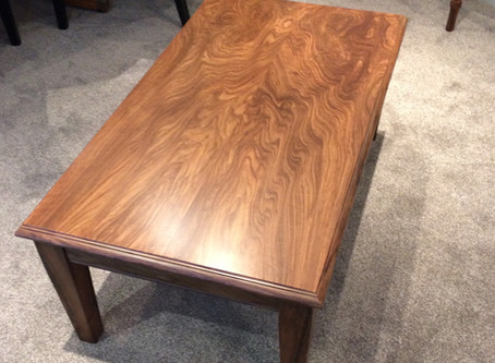 Walnut Coffee Table for a private client (North Yorkshire).