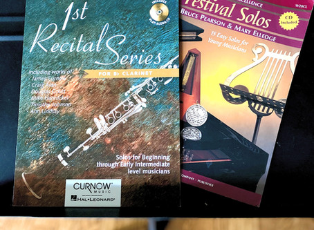 Top 5 1/2  Clarinet Solos for the Advanced Beginner