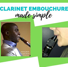 clarinet embouchure