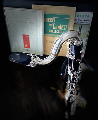 Bass Clarinet with Music