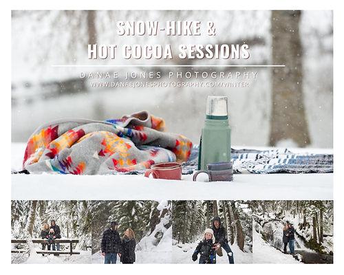 Winter Snow Hot Cocoa Sessions From Danae Jones Photogr
