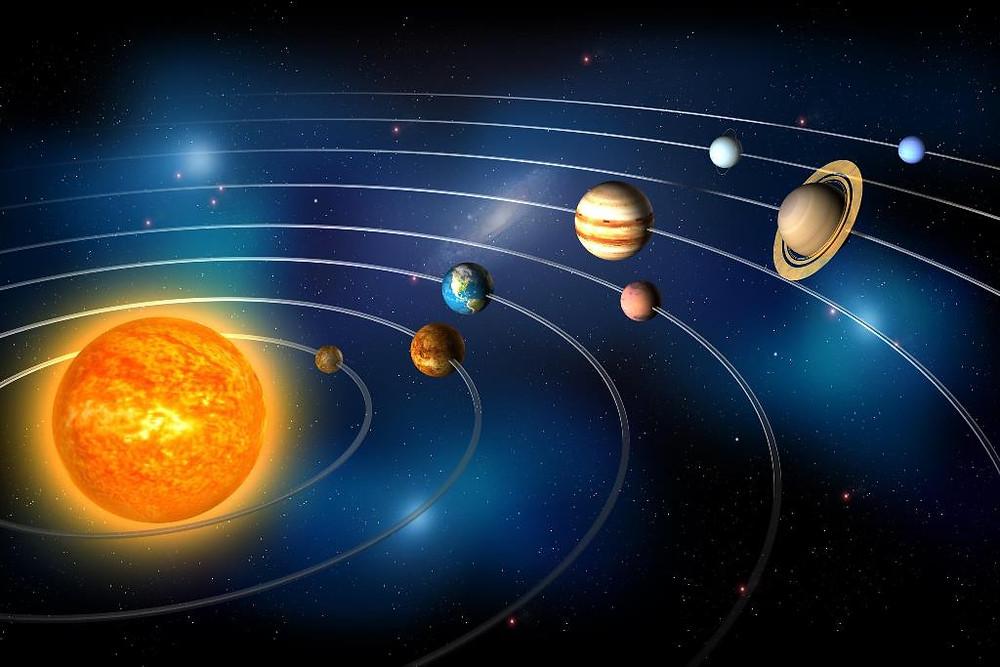 奥妙的太阳系