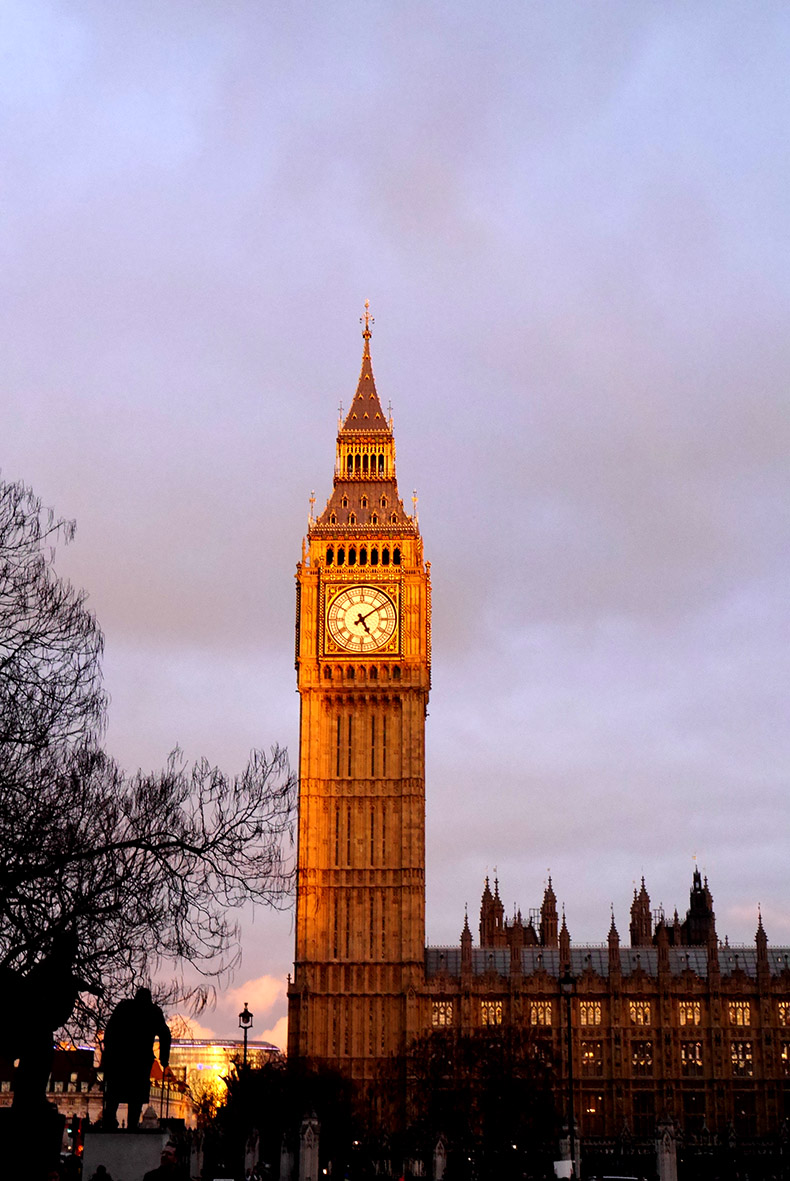 Sunset of Big Ben