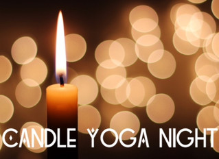 7/18(mon)Candle Yoga Night開催します☆
