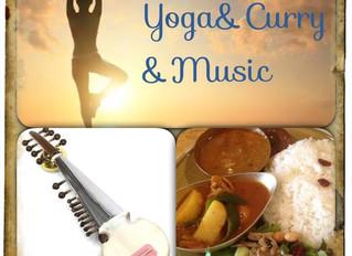 1/14(Sat) 特別企画 Yoga&Curry&Live!!
