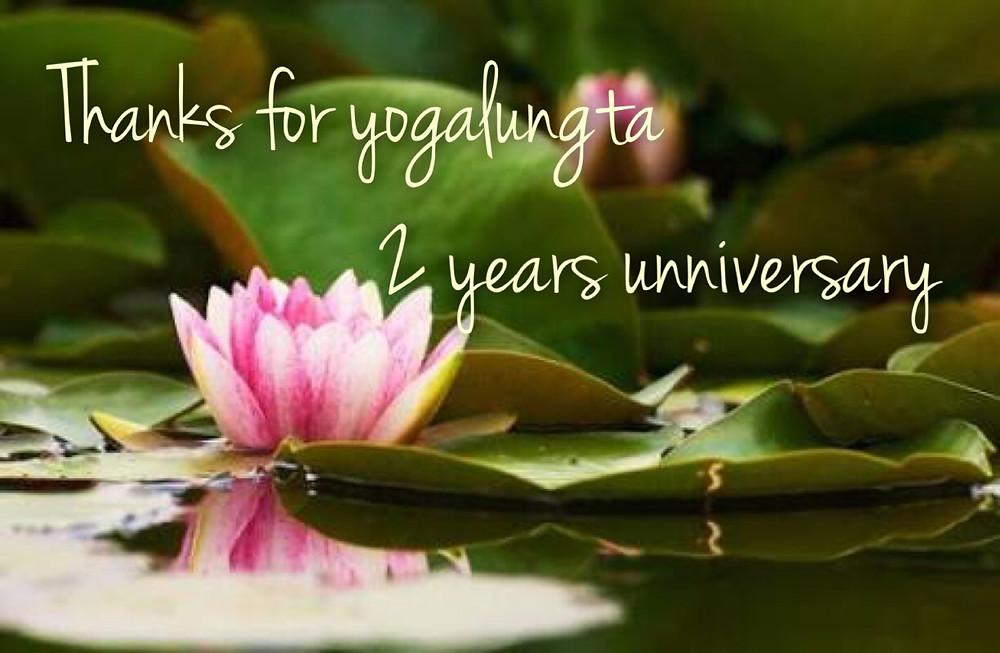 ヨガルンタ2周年記念