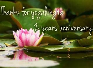 6月のヨガルンタスケジュールと2周年記念