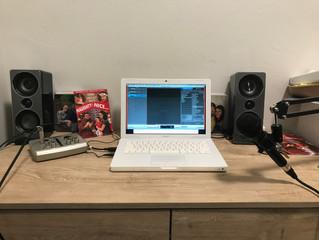 My classroom recording setup
