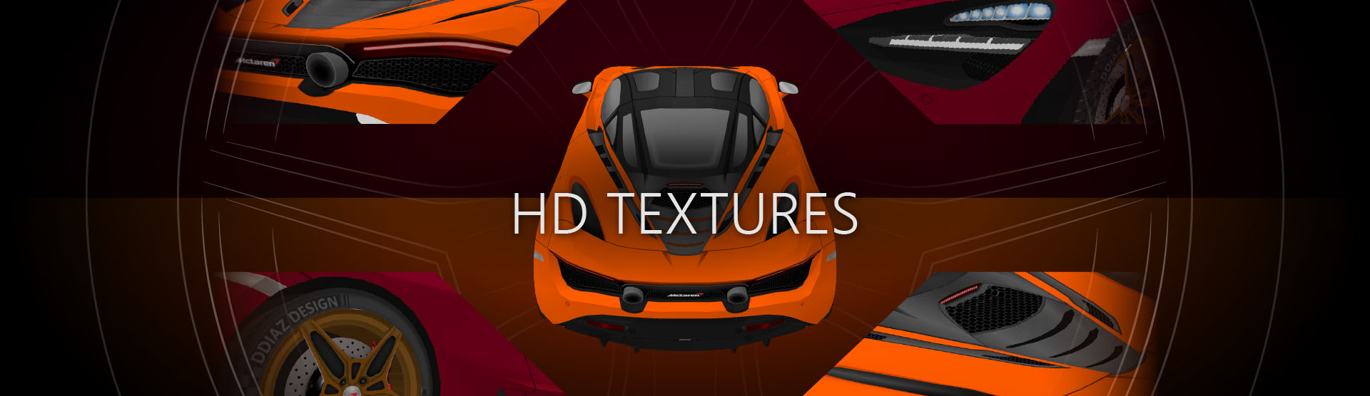 720S Download Textures