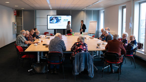 Creative workshop with seniors in the Netherlands