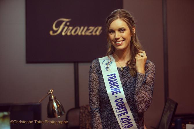 Miss Franche Comté 2019 au Salon des Mariés de Besançon
