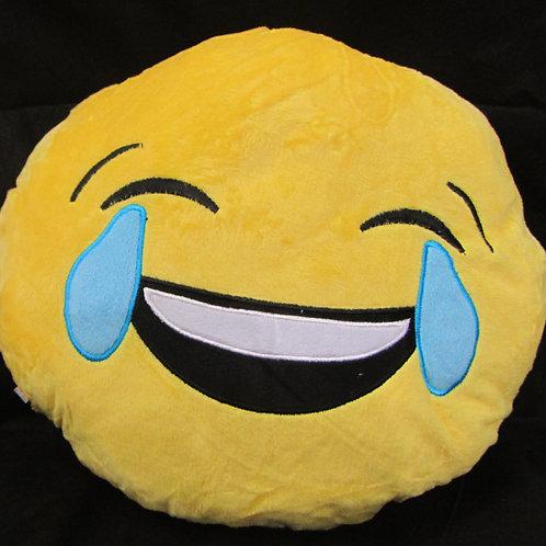 כרית אימוג'י - בוכה מצחוק