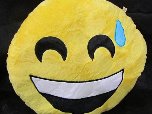 כרית אימוג'י - חיוך רחב