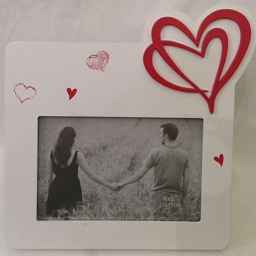 מסגרת לתמונה לבבות אהבה